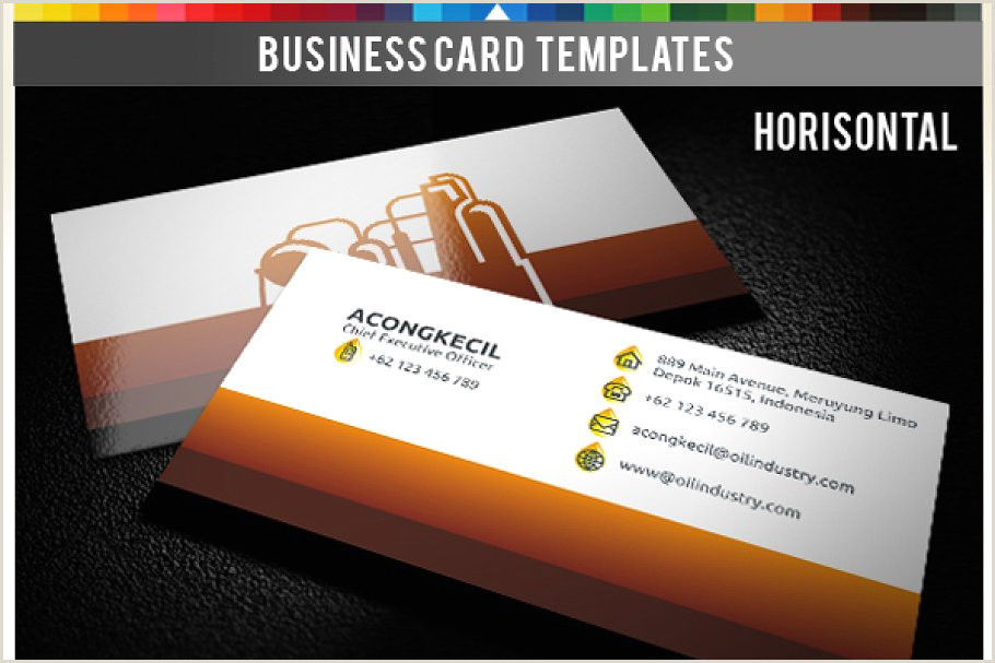 Best Business Cards For Gas Premium Business Card Oil & Gas Co