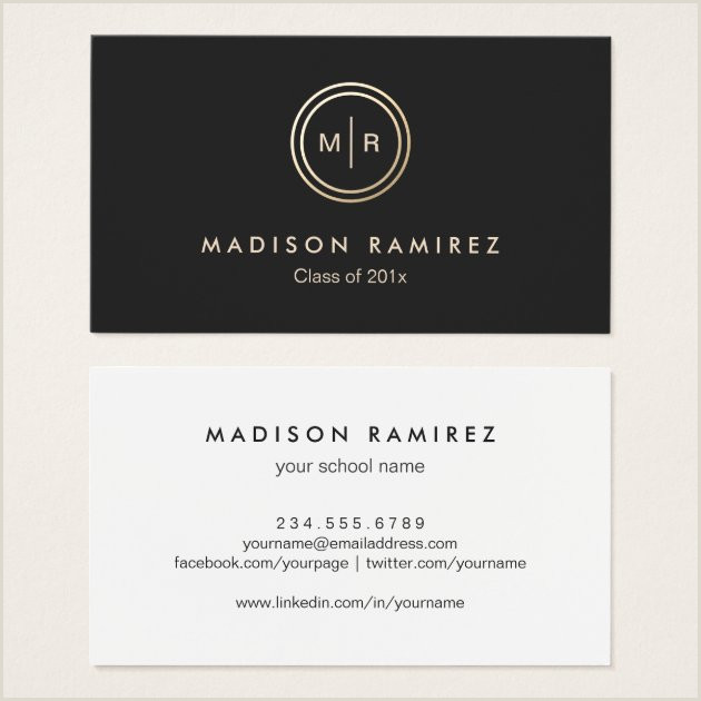 Best Business Cards For Graduate Students 100 Best Graduation Business Cards