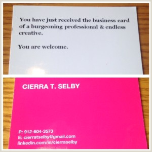 Best Business Cards For Graduate Students 25 Awesome Business Cards Of Students Recent Grads