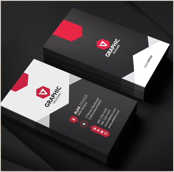 Best Business Cards For Graphic Designers Top 28 Creative Examples Of Graphic Designer Business Cards
