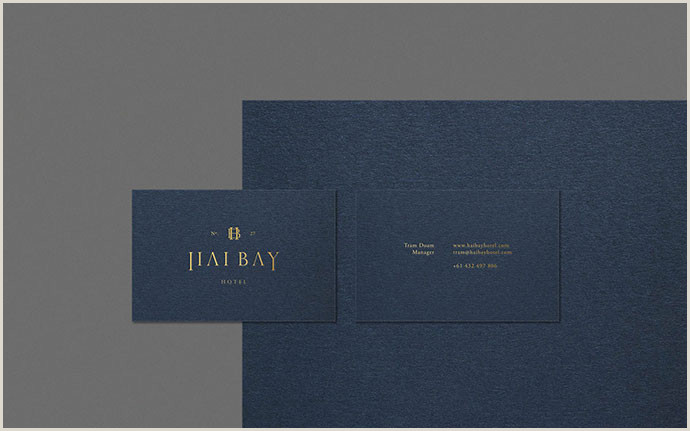 Best Business Cards For.hotels 26 Most Impressive Hotel Business Card Designs – Bashooka