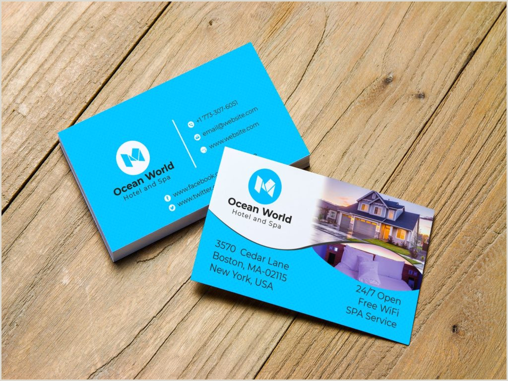 Best Business Cards For.hotels 5 Best Business Cards For Hotel 2020