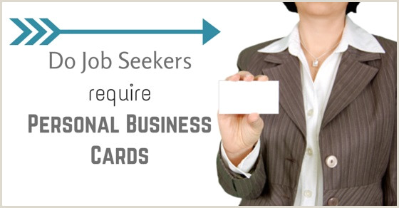 Best Business Cards For Job Seekers Are Personal Business Cards For Job Seekers Required Wisestep