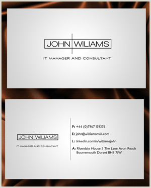 Best Business Cards For Job Seekers Job Seekers Business Cards Resume Template Database