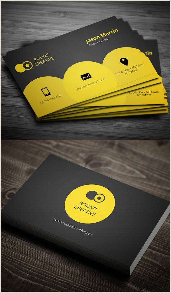 Best Business Cards For Miles 80 Best Of 2017 Business Card Designs Design