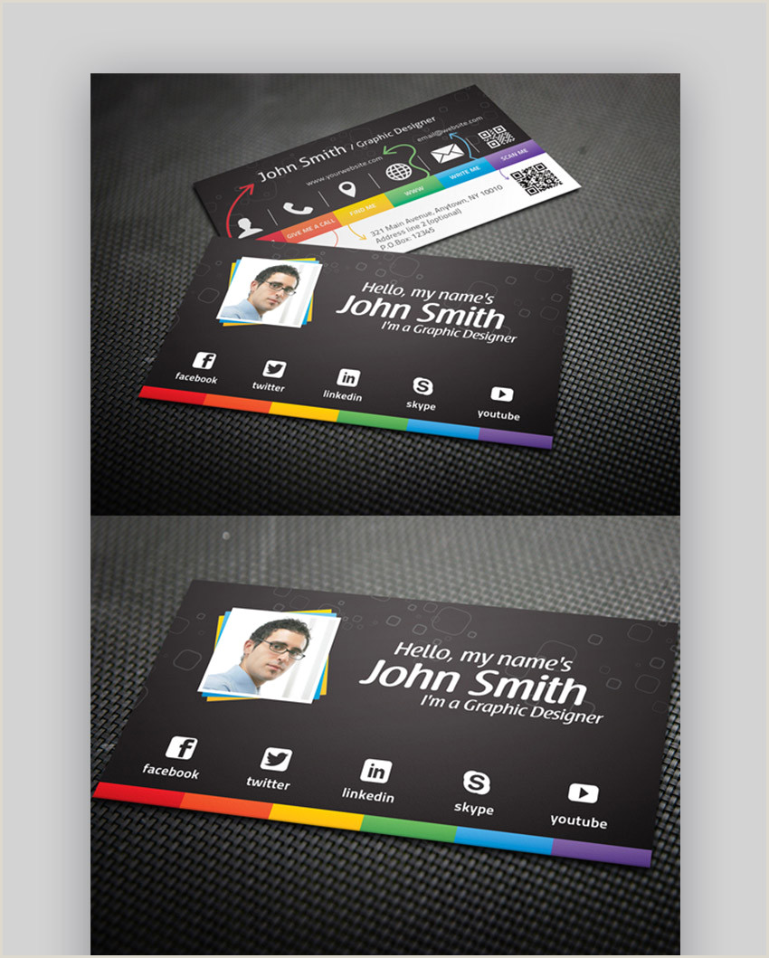 Best Business Cards For Networking Event 25 Best Personal Business Cards Designed For Better