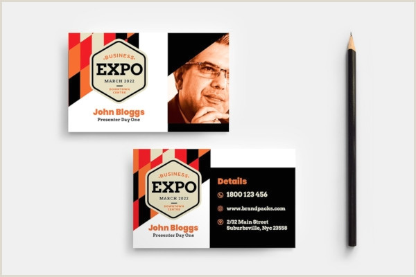 Best Business Cards For Networking Event Free 16 Event Business Card Examples & Templates