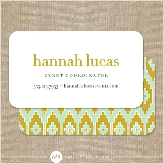 Best Business Cards For Networking Event Top 25 Professional Event Planner Business Card Examples