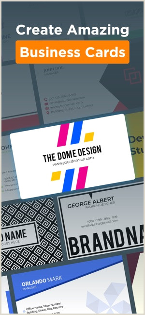 Best Business Cards For New Business Logo Maker Design Monogram On The App Store