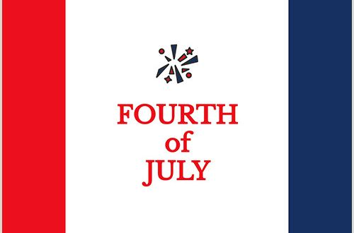 Best Business Cards for Nonprofit Fourth Of July Template