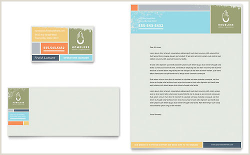 Best Business Cards For Nonprofit Non Profit Business Card Templates & Design Examples