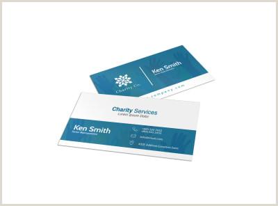Best Business Cards For Nonprofit Non Profit Business Card Templates