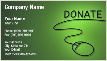 Best Business Cards For Nonprofit Non Profit Organization Business Cards