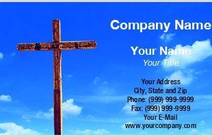 Best Business Cards for Pastors Pastor Business Cards