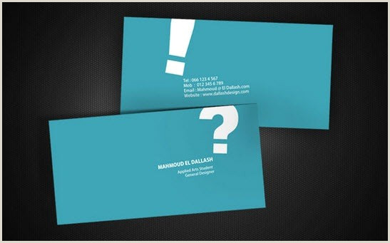 Best Business Cards For Personal Use 100 Beautiful Creative And Minimal Business Cards