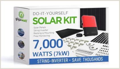 Best Business Cards For Solar 7000 Watt 7kw Diy Solar Install Kit W String Inverter