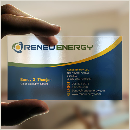 Best Business Cards For Solar Creating A Business Card For Renewable Energy Consulting