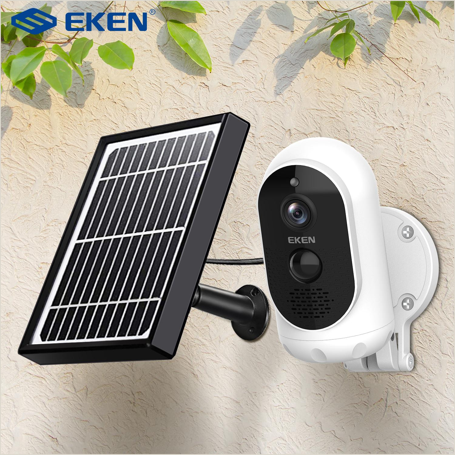 Best Business Cards For Solar Eken Astro 1080p Battery Camera With Solar Panel Ip65 Weatherproof Motion Detection 6000mah Battery Security Camera Internet Monitor Internet