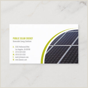 Best Business Cards For Solar Solar Energy Business Cards Business Card Printing