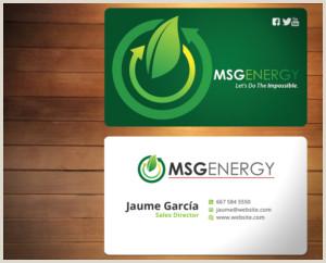 Best Business Cards For Solar Solar Energy Business Cards