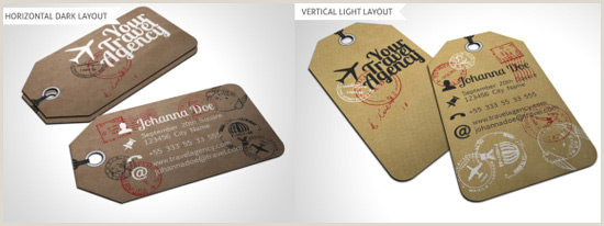 Best Business Cards For Travel 20 More Business Card Designs That Will Leave An