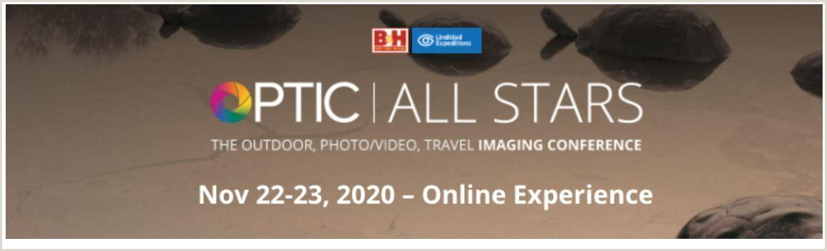Best Business Cards For Travel B&h Announces Optic All Stars Outdoor Video Travel