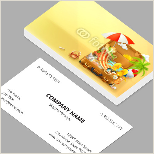 Best Business Cards For Travel Travel Agency Business Cards Standard Horizontal