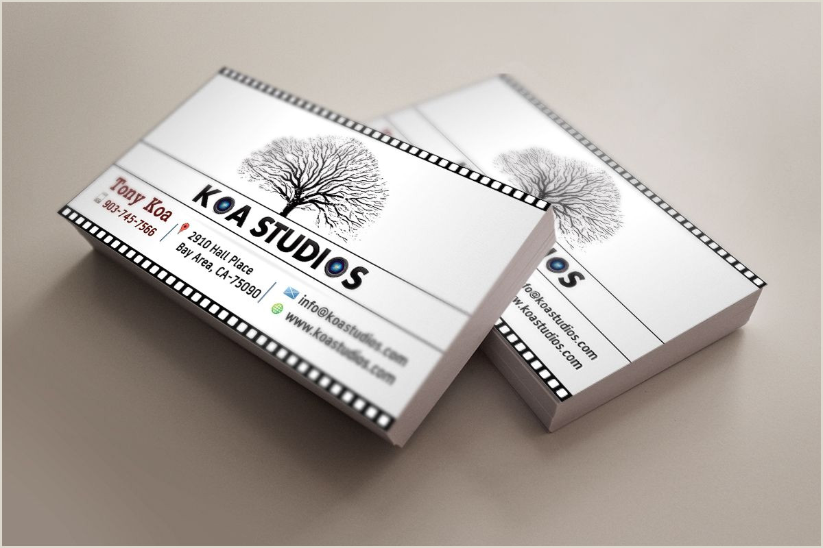 Best Business Cards For Videographer/editor 11 Hd High Quality Business Card Sample For Wedding