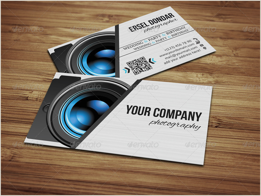 Best Business Cards For Videographer/editor Grapher Business Card V2