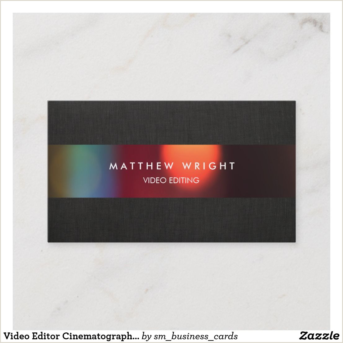 Best Business Cards For Videographer/editor Pin On Nice Looking Business Card Designs