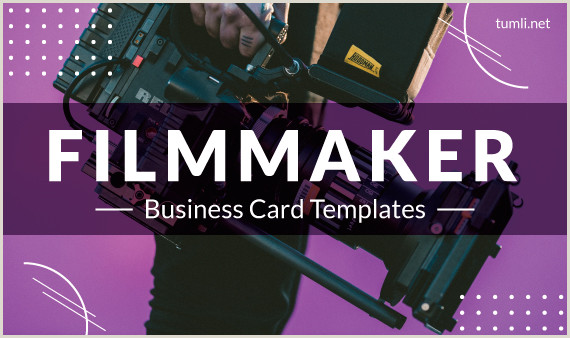 Best Business Cards For Videographer/editor Template Best Maker Business Card Templates Designs