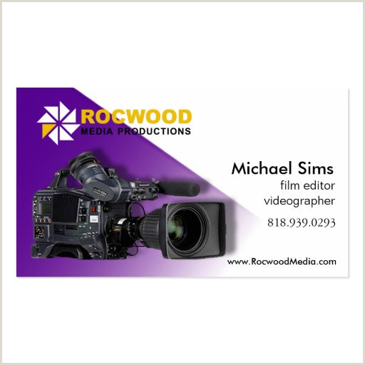 Best Business Cards For Videographer/editor Template Video Editor Business Cards