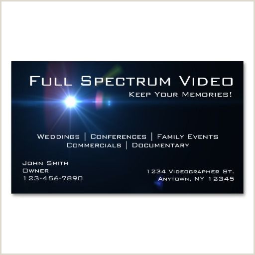Best Business Cards For Videographer/editor Template Videographer Business Cards Zazzle