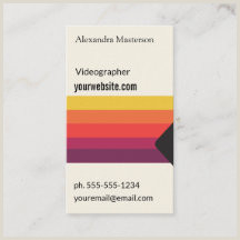 Best Business Cards For Videographer/editor Videographer Business Cards Business Card Printing