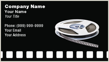 Best Business Cards For Videographer/editor Videographer Business Cards