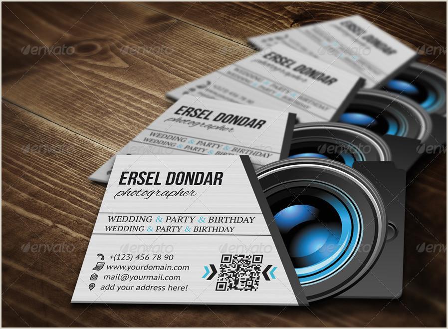 Best Business Cards For Videogrpaher/editor Grapher Business Card V2