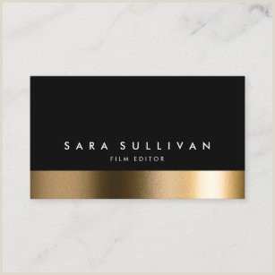 Best Business Cards For Videogrpaher/editor Video Editor Business Cards Business Card Printing