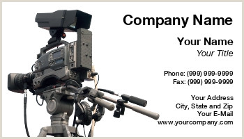 Best Business Cards For Videogrpaher/editor Videographer Business Cards