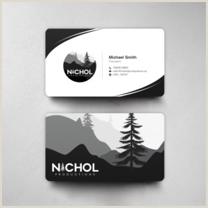 Best Business Cards For Videogrpaher/editor Videography Business Cards