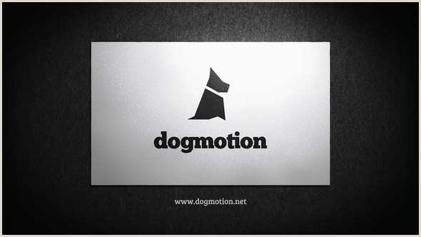 Best Business Cards For Videogrpaher/editor Videohive Business Card Corporate Logo Reveal Free After