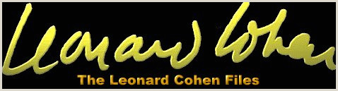 Best Business Cards Forum The Leonard Cohen Files