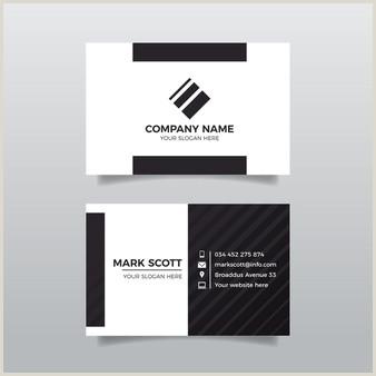 Best Business Cards Geometric Premium Vector