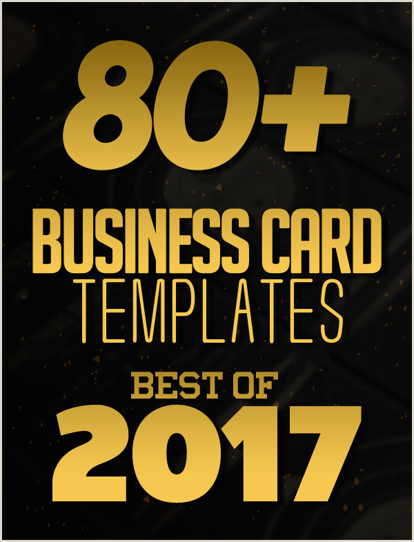 Best Business Cards Heavy Stock 80 Best Of 2017 Business Card Designs Design