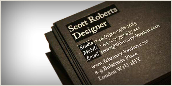 Best Business Cards In The World 60 Modern Business Cards To Make A Killer First Impression