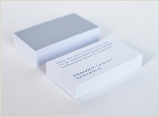 Best Business Cards Less When Less Is More 26 Magnificent Minimalist Business Cards
