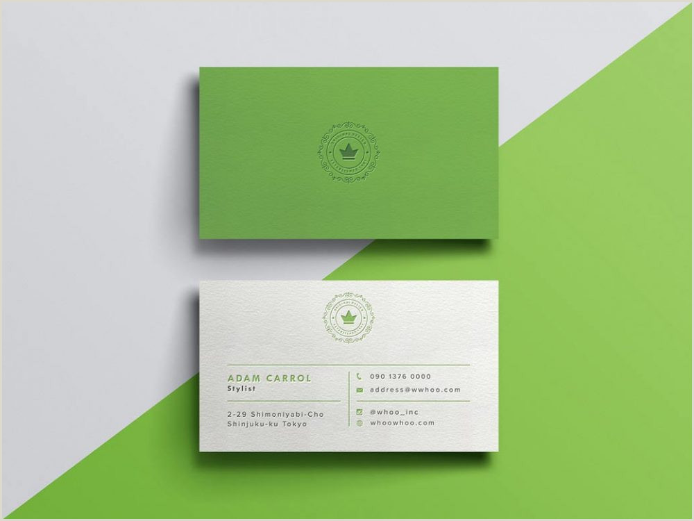 Best Business Cards Mockup 100 Free Business Card Mockups