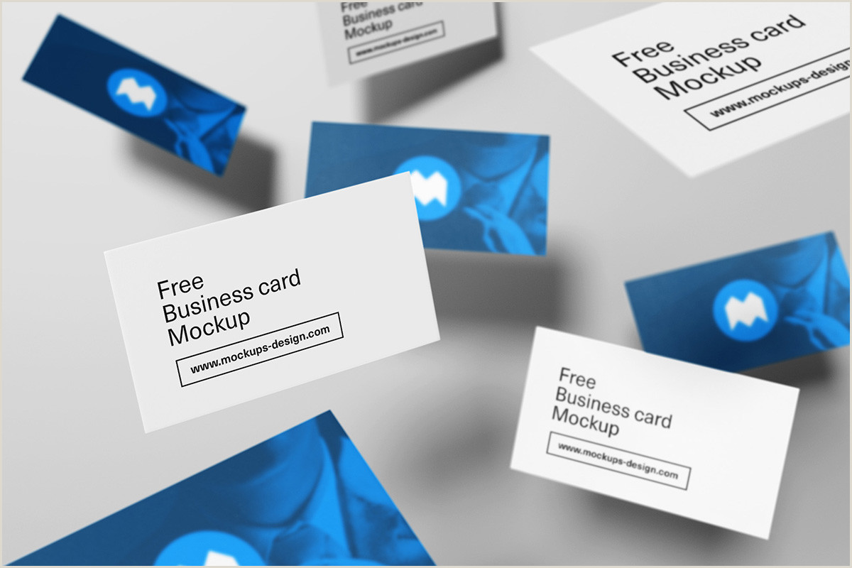 Best Business Cards Mockup 35 Best Quality Business Card Psd Mockup Templates