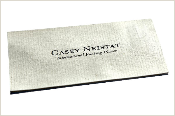 Best Business Cards New York Nyc S Coolest Business Cards 20 Nyc S Coolest
