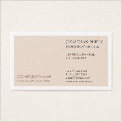 Best Business Cards New York Professional Elegant Colors Simple Plain Modern Business