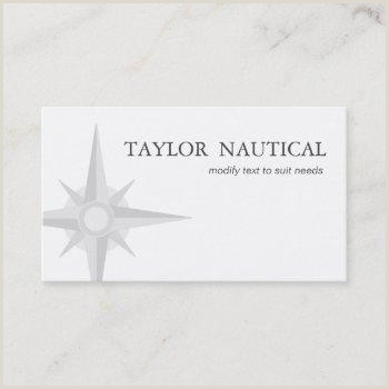 Best Business Cards Online 2020 For Nautical Boat Captain Business Cards